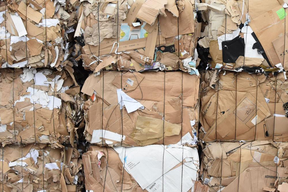 Pôle Aire - Ecophyse, déchet carton